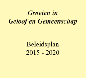 Beleidsplan 2015-2020