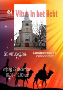 St Vitus in het licht @ RK kerk St. Vitus Winschoten | Winschoten | Groningen | Nederland